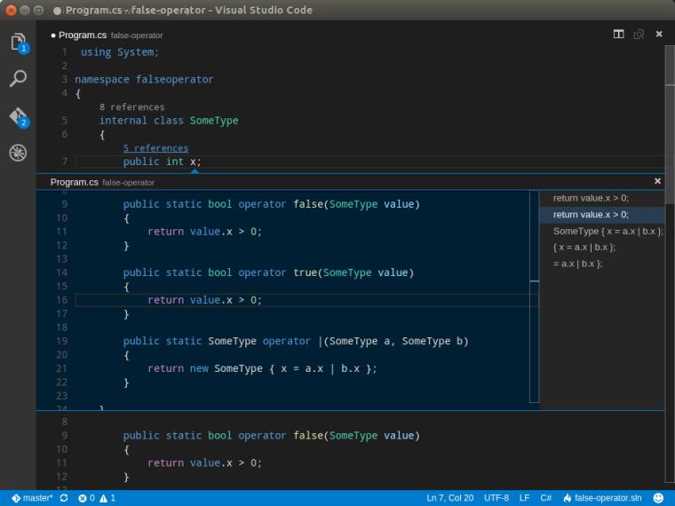 VS Code Navigation